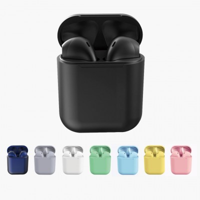 Casti Audio Wireless, InPods 12, EarBuds, tehnologie Bluetooth 5.0, Bass Boost pentru iOs & Android