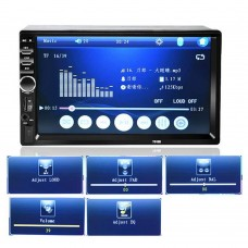 "Player Multimedia Auto 2DIN Radio, MP5 Display 7"" HD TouchScreen, Bluetooth, USB, TF, AUX"
